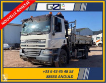 Camion DAF CF 75.310 bi-benne accidenté