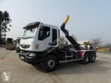 Camión Gancho portacontenedor Renault Kerax 410