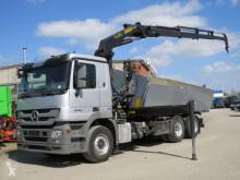 Camión volquete Mercedes Actros 2544 L6x2 3-Achs Kipper Kran 4xhydr+Greiferst