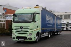 Mercedes Actros Mercedes-Benz Actros 2543 E6 Jumbo LKW Lastzug gebrauchter Pritsche und Plane