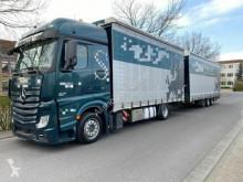 Lastbil med släp flexibla skjutbara sidoväggar Mercedes Actros Actros 1845 BigSpace/E6/Edscha Jumbo ZUG