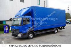 Camião Mercedes Atego Atego 818L Pritsche 7,23m LBW Klima Euro-6 caixa aberta com lona usado
