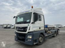 Camión MAN TGX TGX 26.440, Multiwechsler + Ladebordwand 3 Achs chasis usado