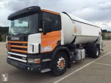 Scania tartálykocsi teherautó P