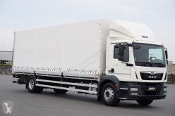 Ciężarówka MAN TGM / 18.250 / E 6 / ACC / SKRZYNIOWY + WINDA Plandeka używana