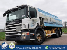 Scania P114 truck used chemical tanker