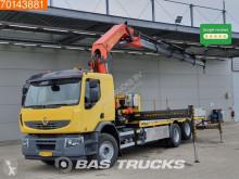 Camion cassone Renault NL-Truck Crane Kran Palfinger PK42502 Liftachse