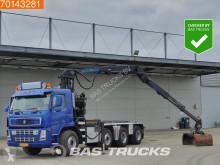 Camion transport containere Terberg FM1850-T Crane Palfinger 18 Ton/Meter Z-Crane Big-Axle