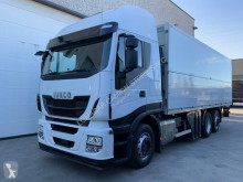 Camion fourgon paroi rigide repliable Iveco Stralis AS 260 S 46