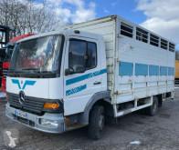 Mercedes állatszállító pótkocsi teherautó Atego Atgeo 1017