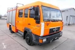 Camion MAN L2000 L2000 10.224 LC LHF 16/12 4X2 DoKa AHK FEUERWEHR pompieri usato