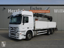 Mercedes Actros Actros 2544 L MP3 6x2 Lift/Lenk, HIAB 166 K PRO truck used dropside