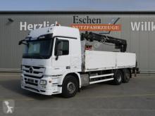 Camion Mercedes Actros Actros 2544 L MP3 6x2 Lift/Lenk, HIAB 166 K PRO platformă si obloane second-hand