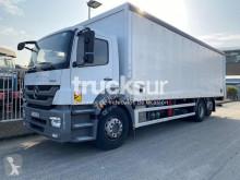 Camião caixa aberta com lona Mercedes Axor 2533