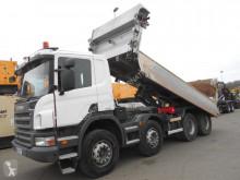 Kamion Scania P 400 dvojitá korba použitý