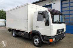 Camion fourgon brasseur MAN 8.220 4x2 Getränkekoffer Blatt/Luft