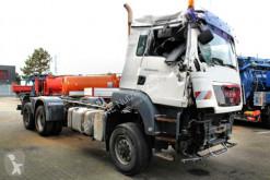 Maquinaria vial camión limpia fosas MAN TGS TGS 28.440 6x4-4 Unfall Saug u. Druck-Hydraulik