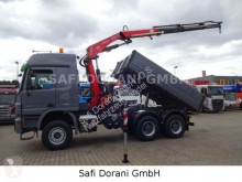 Camion Mercedes Actros Actros 3344 Kipper+Fassi F235XP benne occasion