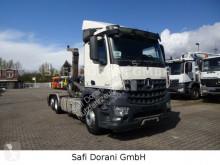 Mercedes hook arm system truck Arocs Arocs 2545 Abroller Meiller 6x2
