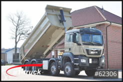Camion benne MAN TGS 41.500 BB 8x8 Allrad Kipper Langendorf