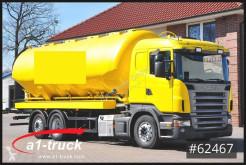 Scania Silo Futter Feed 5 Kammern Lenk-u Liftachse, gebrauchter Tankfahrzeug Lebensmittel