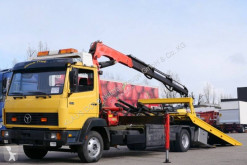 Mercedes 814 truck used car carrier