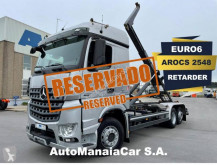 Camion porte containers Mercedes Arocs 2548 LS