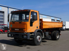 Iveco three-way side tipper truck Eurocargo 180E27* Schalt* AHK* Meiller 3 seitenkipper*