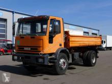 Camión volquete volquete trilateral Iveco Eurocargo 180E27* Schalt* AHK* Meiller 3 seitenkipper*