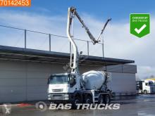 Camião Iveco Trakker 410 betão betoneira + bomba usado