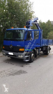 Camion Mercedes Atego 1823 benne TP occasion