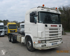 Camion Scania G 124G470 polybenne occasion