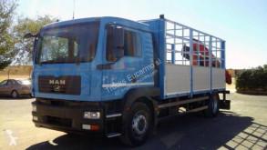 Camión MAN caja abierta usado