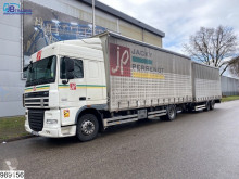 Camion remorque DAF XF rideaux coulissants (plsc) occasion