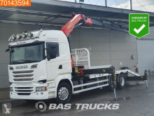 Lastbil biltransport Scania R 520