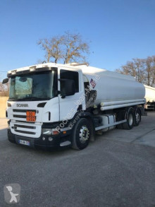 Scania P 380 truck used oil/fuel tanker