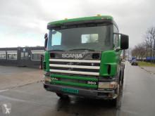 Kamion Scania P124 beton frézovací stroj / míchačka použitý