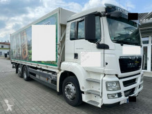 Camión caja abierta transporte de bebidas MAN TGS TGS 26.360 LL 6x2 Schwenkwand Getränkewg. m. LBW