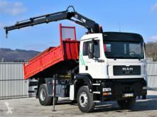 Camião MAN TGA 18.310 Kipper 4,60m + HIAB 102XS-3B + FUNK ! basculante usado