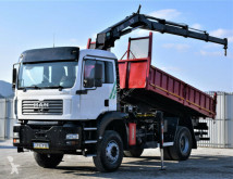Camion MAN TGA 18.310 Kipper 4,60m + HIAB 102XS-3B + FUNK ! benne occasion