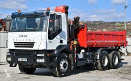 Kamion korba Iveco TRAKKER 380 Kipper 4,80m +FASSI F150/FUNK*6x4 !