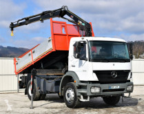 Camión volquete Mercedes Axor 1828 Kipper 4,40m + HIAB 099 HIDUO/FUNK !