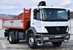 Camión caja abierta Mercedes Axor 1828 Kipper 4,40m + HIAB 099 HIDUO/FUNK !