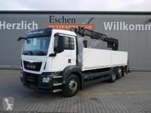 Kamion plošina bočnice MAN TGS TGS 26.440 6x2-4BL*HIAB 166K PRO*Lift/Lenk*EURO6