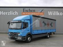 Camión lona corredera (tautliner) Mercedes Atego 1224 L Atego Pritsche Plane, 1. Hand, Schalter