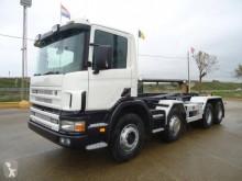Camión Scania R124 420 Gancho portacontenedor usado