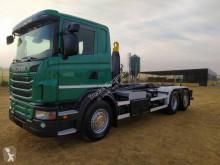 Camión Gancho portacontenedor Scania G 420