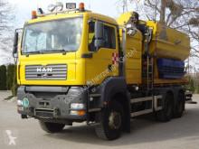 Maquinaria vial camión esparcidor de sal MAN TGS 33.360 6x6 Wechselfahrg. *Kran *Salzstreuer