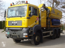 MAN TGS 33.360 6x6 Wechselfahrg. *Kran *Salzstreuer camion saleuse occasion