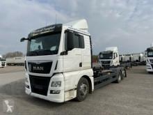 Kamion MAN TGX TGX 26.440 LL Jumbo, Multiwechsler 3 Achs BDF W podvozek použitý